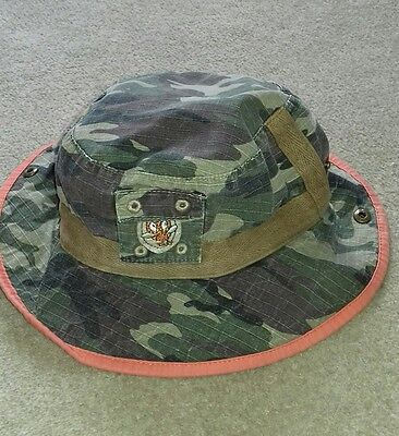 Next Boys Camouflage Hat 3-5 years Cotton