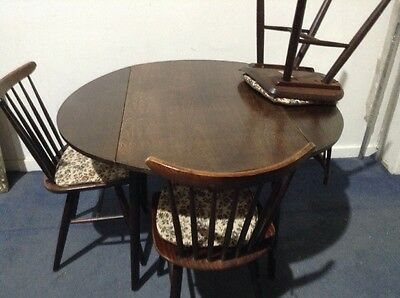 Mid Century Drevounia Dining Chairs And Table