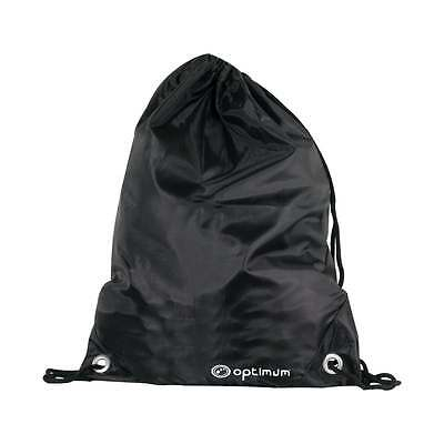 Optimum Sports New Drawstring Bag Lightweight School P.E Kit Rugby Soccer Gym