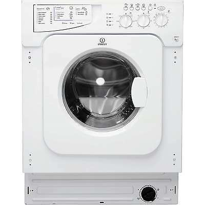 Indesit IWME146 - Built-in Integrated Washing Machine 6kg Load & Fast 1400 Spin