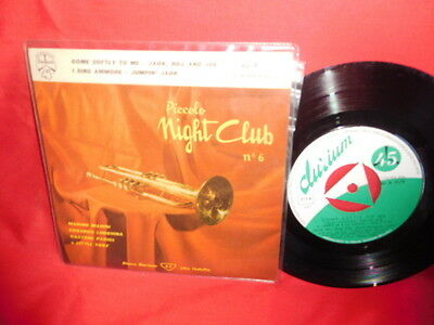 LITTLE TONY and his BROTHERS Jumpin' Jack EP 45rpm 7' + PS 1959 ITALY MINT-