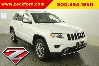 2016 Jeep Grand Cherokee Limited 4x4 3.6L V6 Automatic 4WD Leather Heated Seats Reverse Camera Bluetooth XM