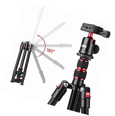 "Rangers 54"" Portable Professional Aluminium Tripod with 360° ABS Ball Head"