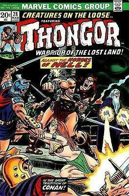 Thongor Creatures On The Loose 28 Marvel 20 Cents American Comic