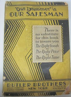 RARE 71 pages of Toys in 1929 BUTLER BROS Christmas 568pp Dealer Catalog