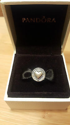 Pandora Silver Love Heart Charm In Gift Box S925Ale.