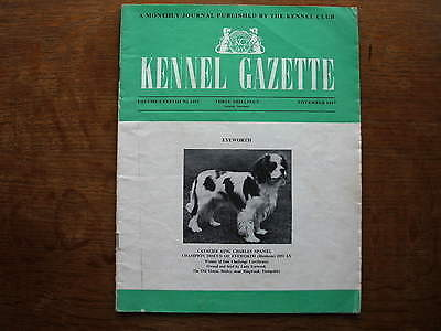 Kennel Gazette. Monthly Journal Published by the Kennel Club. November 1967