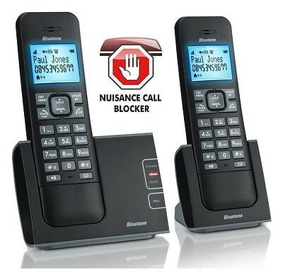 Binatone Defence 6025 Twin  Digital Cordless Phone Call Bocker Answer Machine