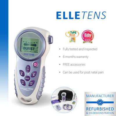 Elle TENS Maternity TENS unit for labour & beyond - Manufacturer Refurbished