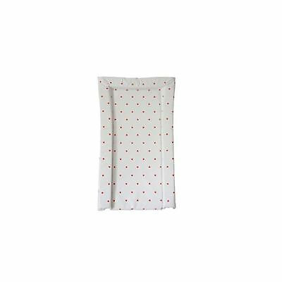 East Coast Nursery Essential Baby Changing Mat Red Spots Easy Clean Brand New