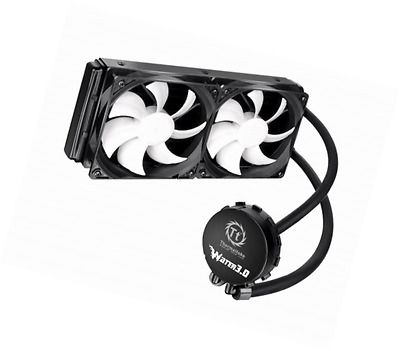Thermaltake Water 3.0 Extreme S 240mm AIO Liquid Cooling System CPU Cooler CLW02