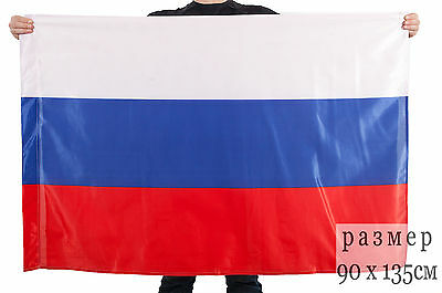 Flag three color, Russia
