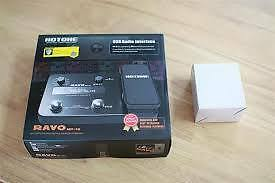 Hotone Ravo MP-10 Multi-Effects and Audio Interface for electric guitar. Looper.