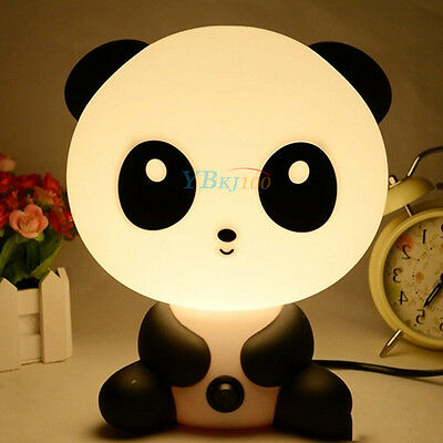 Panda Rabbit Dog Night Light Lamp Projector for Decorating Baby Rooms EU Plug