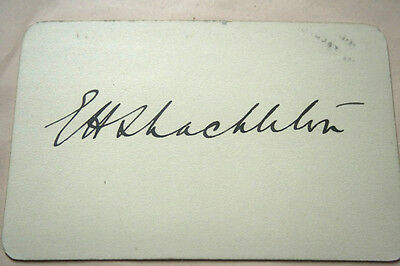 Ernest Shackleton Dated Signature 1914: The Year Of The Endurance Trip