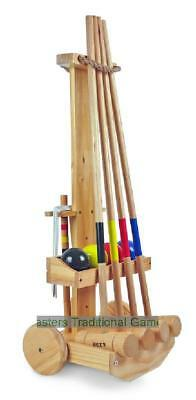 Bex Original Croquet Set With Trolley (4 player)