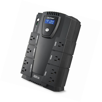 CyberPower CP825LCD Intelligent LCD UPS 825VA 450W Compact