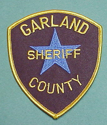 Garland  County  Arkansas  Ar Sheriff /  Police Patch  Free Shipping!!!