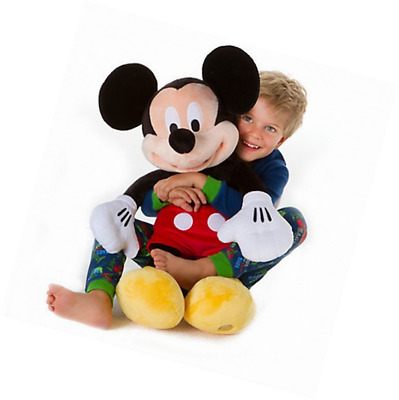 Disney Exclusive Large Mickey Mouse Plush Toy -- 25'' H
