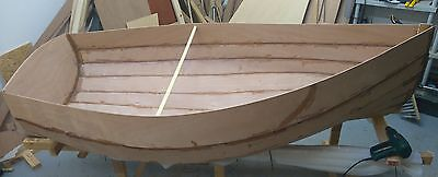 Small Dinghy Hull - Part Built in a quality Gaboon Marine Plywood