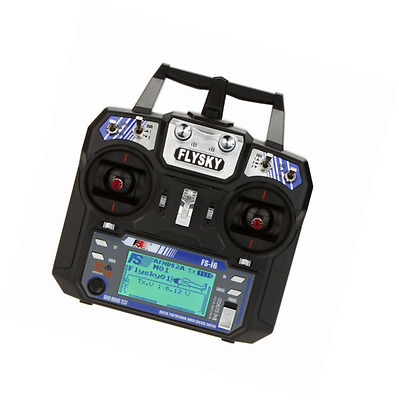 Flysky FS-i6 AFHDS 2A 2.4GHz 6CH Radio System Transmitter for RC Helicopter Glid
