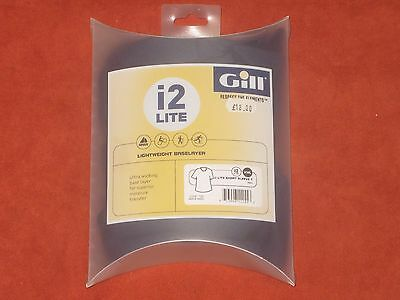 NEW Gill i2 Lite Thermal Base Layer XXL Blue Top Vest Mens Extra Extra Large nos