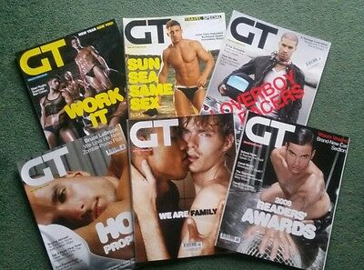GAY TIMES - Gay Interest Magazines - # 352/3/4/5/6/7