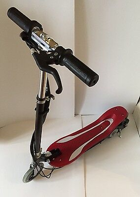 Kids electric scooter ride on Lextek Rechargeable E scooter-foldable