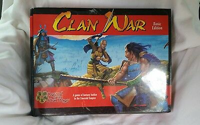 Clan Wars Basic Edition  Legend of the Five Rings Fantasy Battles  -NEW FSW
