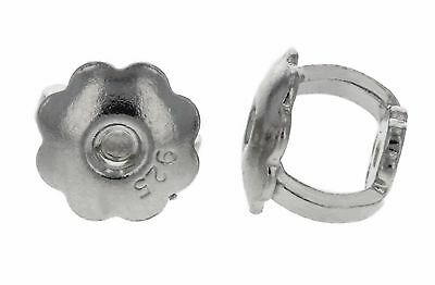 Sterling Silver 4.5mm SINGLE Replacement Back for SCREW-BACK Stud Earrings