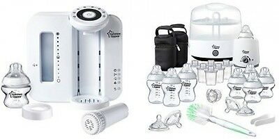 Tommee Tippee Perfect Prep Machine With Complete Feeding Set Bundle