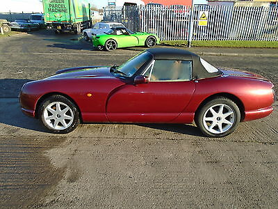 1996 Tvr Chimaera Red Very Rare  5Ltr Hc  V8  Cat D Salvage Just Needs Paint