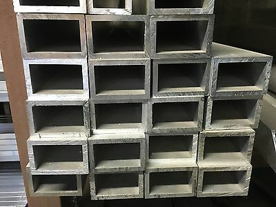 "2"" X 3"" X .250"" X 10"" Length Aluminum Rectangular Tube"