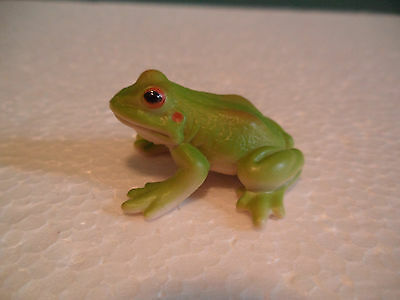 Schleich Green and Red Tree Frog Figure USED