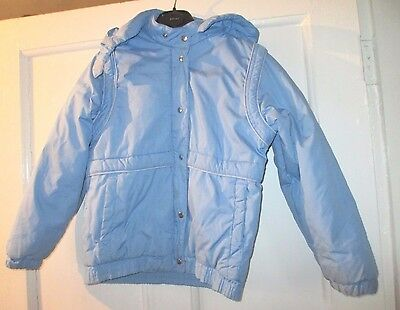 Vintage boys blue  anorak/jacket boys  height 146/152 age   approx 10
