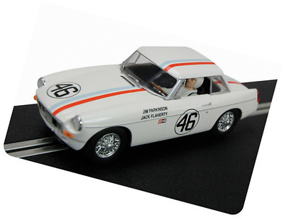 Hornby Scalextric C3415 MGB Sebring 12 Hours 1964 Slot Car, Scale 1:32