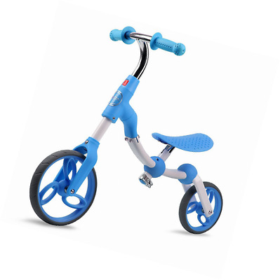 Vokul Blue Gh06 Kid Balance Bike Toddler Toys Bike for Age 2-5, No Pedal, Height