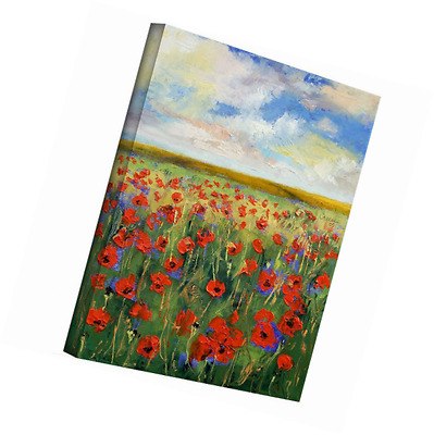 Art Wall Michael Creese 'Poppies' Gallery Wrapped Canvas, 24x18
