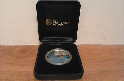 2009 Australia 100 Years Of Excellence 1 Oz Silver Proof Coin !!!
