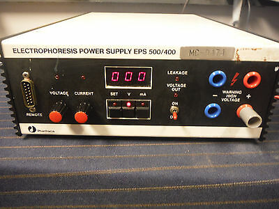 Pharmacia LKB EPS 500/400 Electrophoresis Power Supply - Tested Works