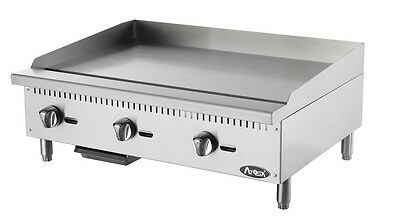 """Atosa ATMG-36 brand new commercial restaurant 36"""" manual flat griddle"""