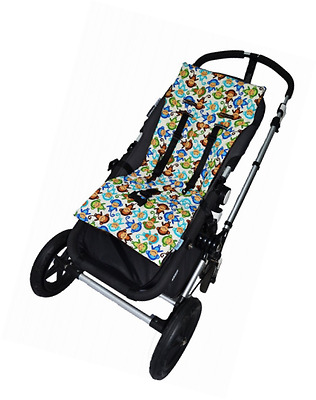 Tivoli Couture NuComfort Memory Foam Stroller Liner, Silly Monkeys, Multi