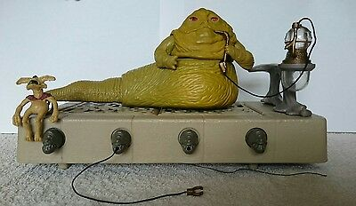 Star Wars vintage Jabba the Hutt throne room playset complete