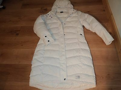 Karrimor Cream Feather and Down   coat size 16  L
