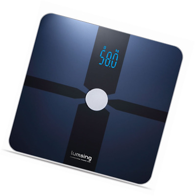 Lumsing Bluetooth Body Fat Scale Smart Body Composition Monitor with Free APP fo