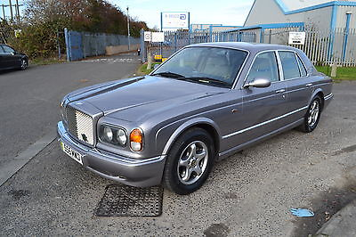 1998 BENTLEY ARNAGE AUTO SILVER 4.4 v8  VERY SOUGHT  AFTER BMW ENGINE MODEL