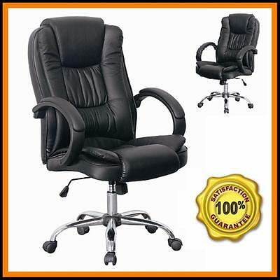 Santana Executive Office Chair Ergonomic Swivel Study Computer Games Desk Chairs
