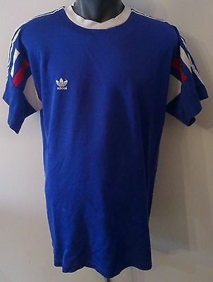 Vintage adidas Yugoslavia Blue soccer jersey authentic shirt XXL