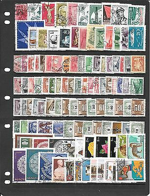 Hungary Collection Of Used Stamps Ab200