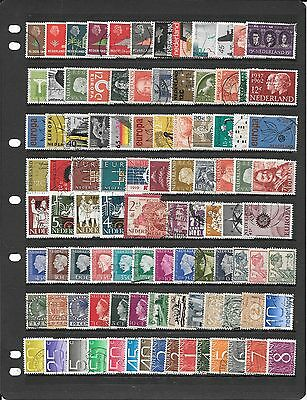 Netherlands Collection Of Used Stamps Bb214